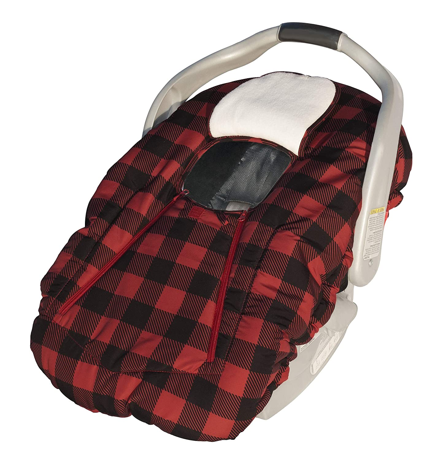 Jolly Jumper Deluxe Sneak-A-Peak, Red Plaid 433-05