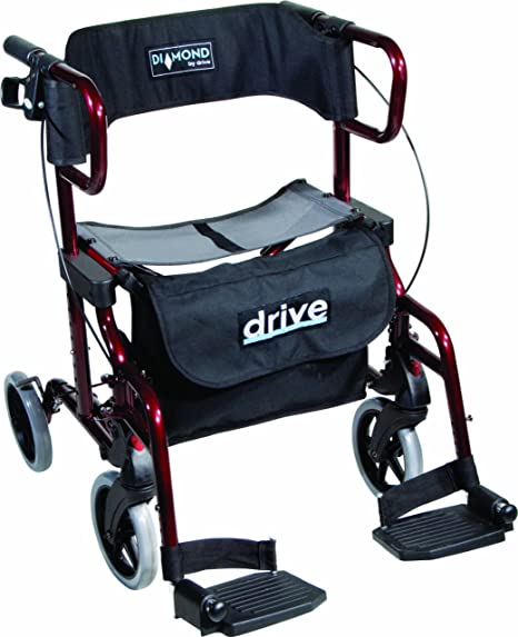 Drive Medical Diamond Deluxe - Silla de rueda, con ...