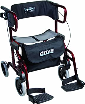 Drive Medical Diamond Deluxe - Silla de rueda, con ...