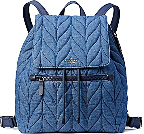 Kate Spade Ellie Large Flap Denim Backpack
