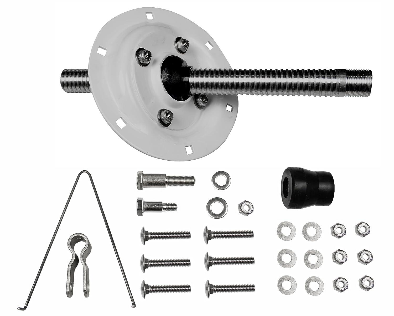 Seastar Univ. O/B SPLASHWELL Montage-Kit 15 Dejeuner Lenkung Equipment