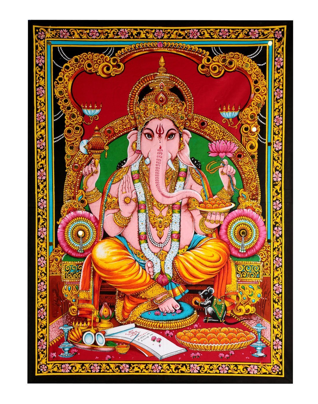 Lord Ganesha Tapestry Small Wall Tapestry Posters Wall Tapestries Hangings Tapestry Wall Hanging Home D/écor Wall Blanket Tapestry Indian Wall Art D/écorative Poster Hippie 40x30 Tapestry For Dorm Room