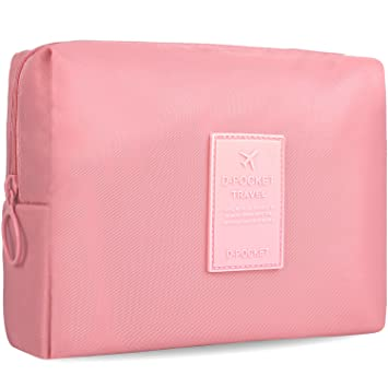 Amazon.com: Bolsa de maquillaje pequeña y bonita para ...