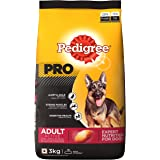 Pedigree Pro Expert Nutrition Dry Food for Active Adult Dogs, Chicken, 3 kg