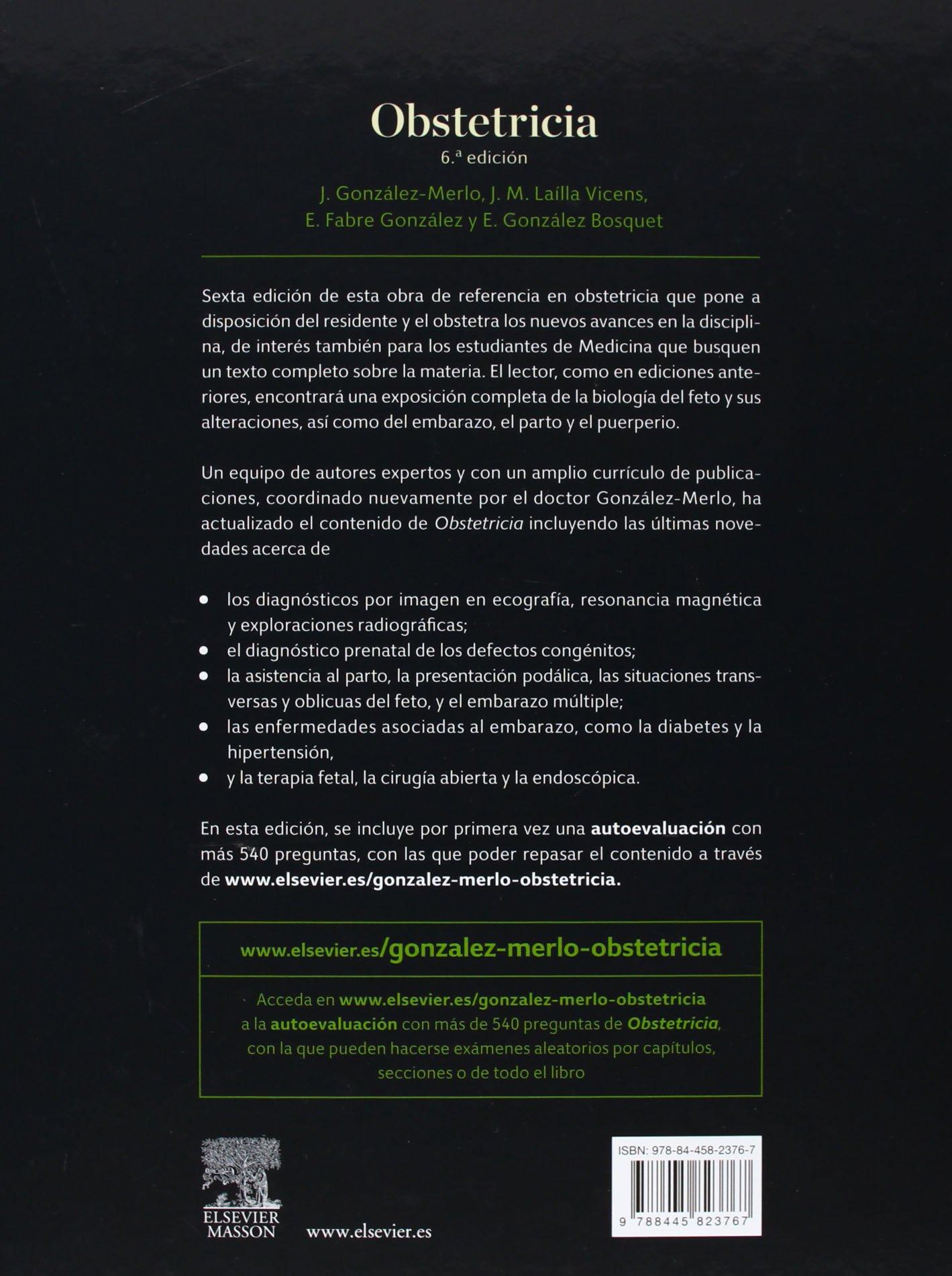 Obstetricia - 6ª Edición (+ Acceso Web): Amazon.es: Jesús ...