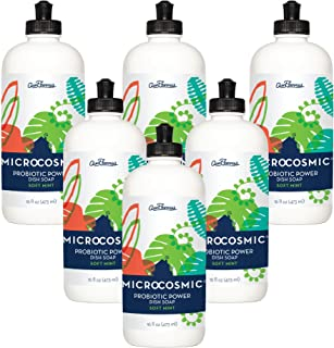 product image for Aunt Fannie's Microcosmic® Probiotic Power Dish Soap (Soft Mint, 6pk)