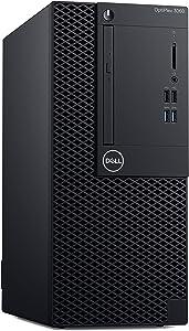 Dell OptiPlex 3060 Mini Desktop Computer with Intel Core i3-8100 3.6 GHz Quad-Core, 4GB RAM, 500GB HDD (44DHX)
