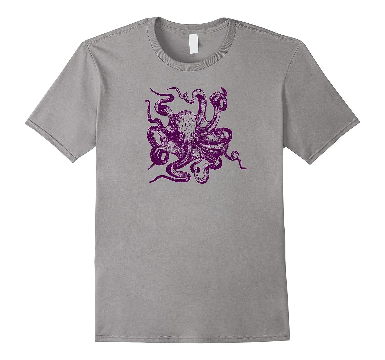 Lil Octopus Buddy T-Shirt-TD