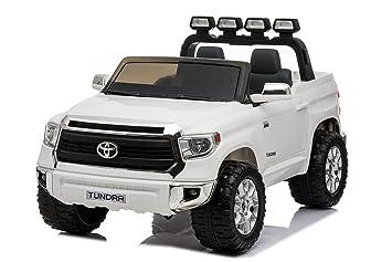 Toyota Tundra XXL Blanc, Voiture électrique pour enfants 2.4Ghz, 24V, 2 X f047f4021d78