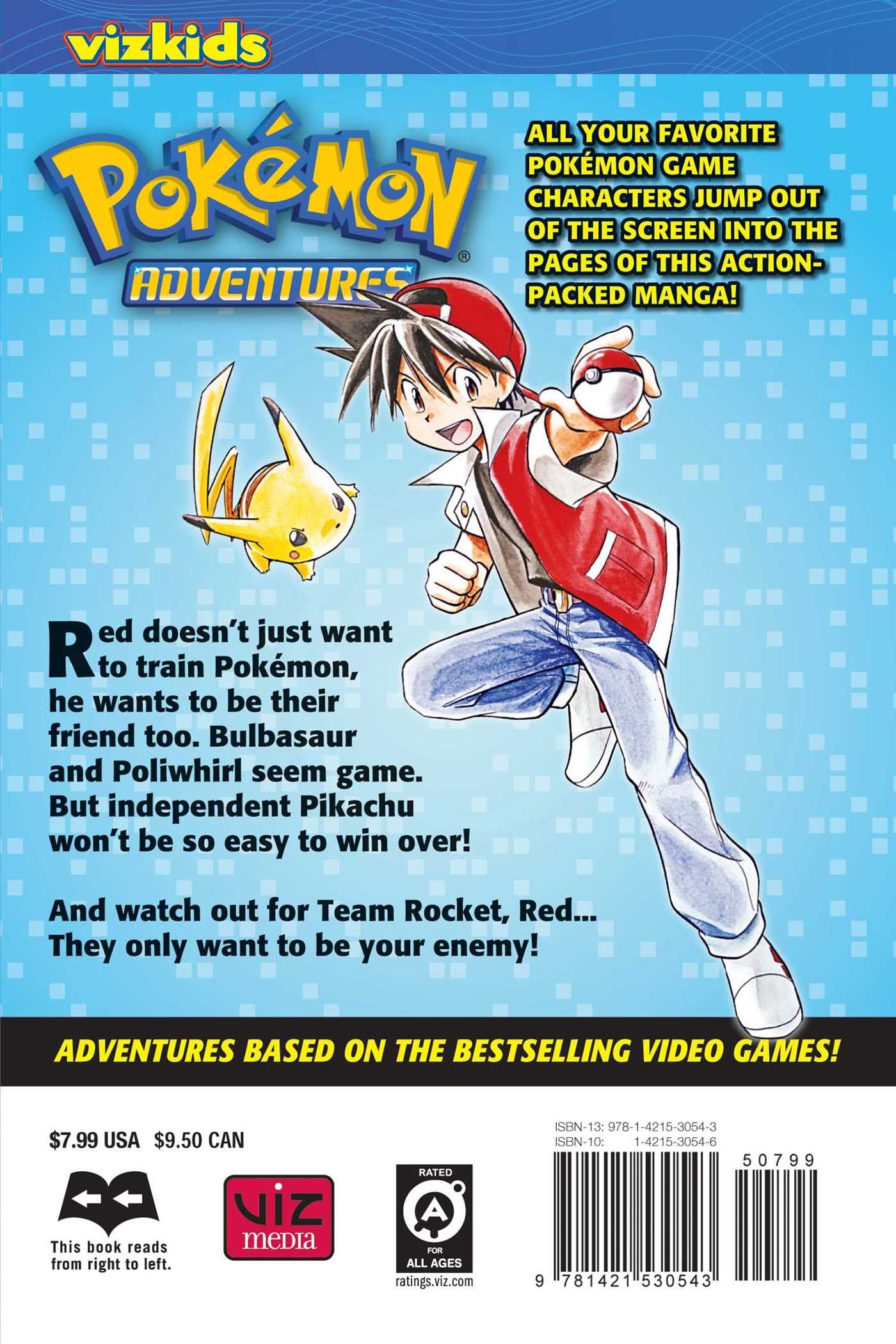 pokemon red adventures