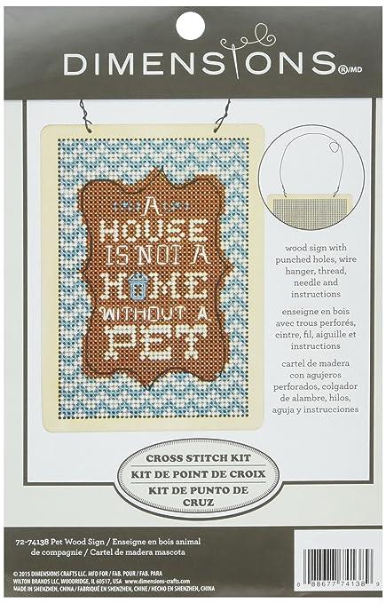 Amazon.com: Dimensions Pet Wood Sign Kit, 72-74138