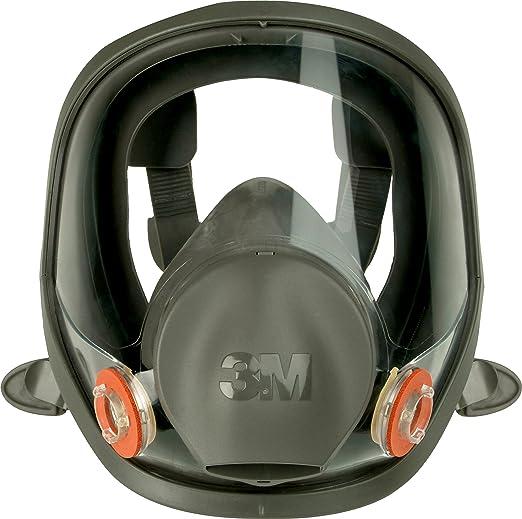 3M Silikon-Vollmaske, Größe L, 1 Stück, 6900L, EN-Sicherheit zertifiziert