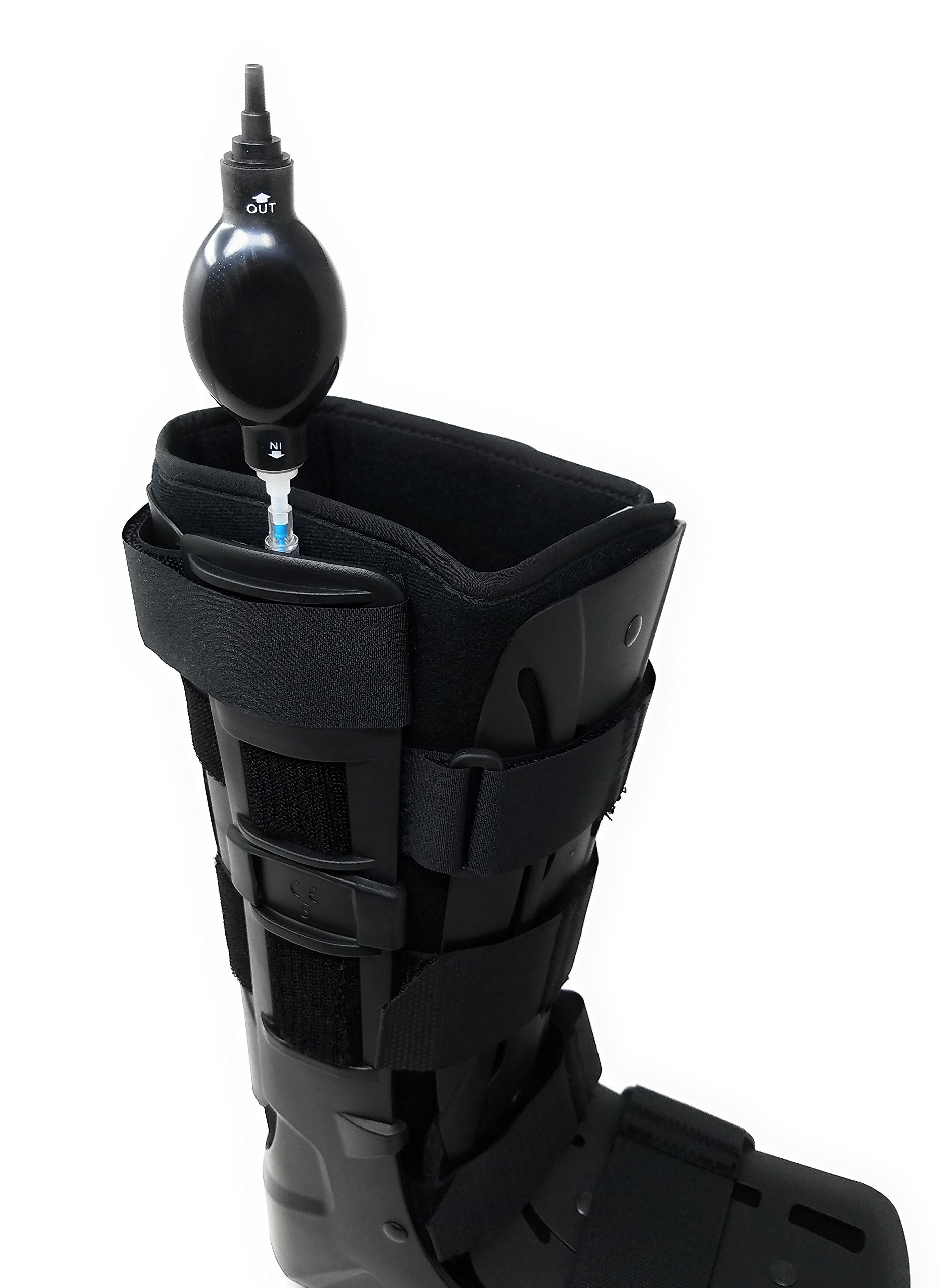 Premium Full Shell Tall Air Cam Walker Fracture Boot - Large/XLarge by MARS WELLNESS