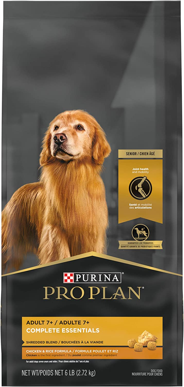 Purina Pro Plan Adult 7+ High Protein Senior Dry Dog Food & Wet Dog Food