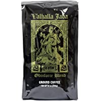 Death Wish Coffee Co., Valhalla Java , USDA Certified Organic and Fair Trade, Ground Coffee - 12 Ounce Bag