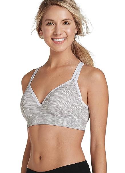 14fe3cca48 Jockey Women s Activewear Multi-Way Molded Cup Sports Bra at Amazon Women s  Clothing store