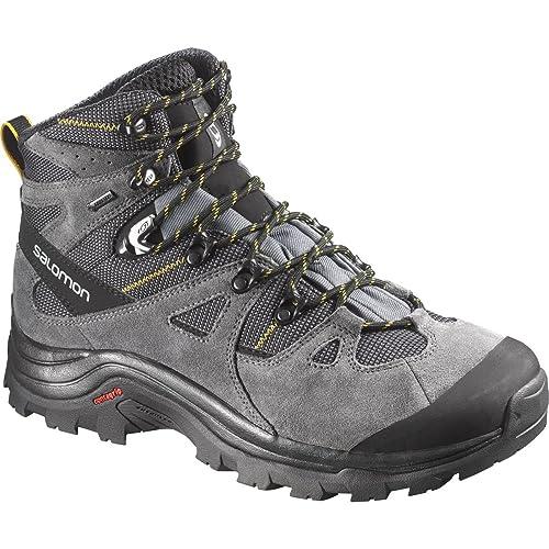 Salomon Discovery GTX, scarpe da escursionismo da donna, Grigio (Grey), 43