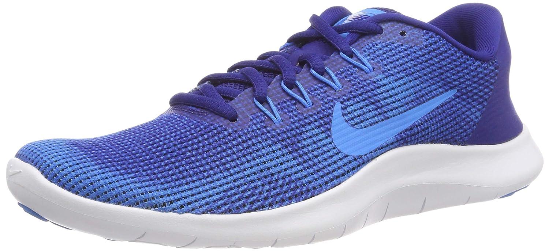 MultiCouleure (Deep Royal bleu bleu Hero blanc 001) Nike hommes Laufschuh Flex Run 2018, Chaussures de Running Compétition Homme 43 EU