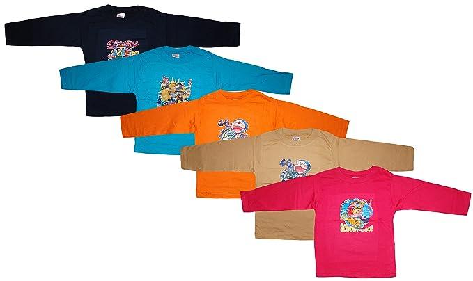 6194fe473973 KIFAYATI BAZAR Round Neck T Shirt Full Sleeve Cotton Hosiery T-Shirt Kids  top tees