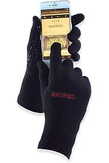 Sundried Ciclo del deporte Running guantes del tacto de la tecnología de la pantalla transpirable bambú