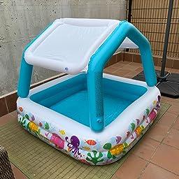 Intex 57470NP - Piscina hinchable infantil con toldo extraíble 157 ...