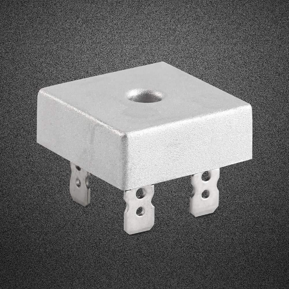 KBPC5010 rectificadores monof/ásico de puente completo Para la conversi/ón de una entrada de corriente alterna en una salida de corriente continua.1000V,50A,Voltaje de aislamiento1000V