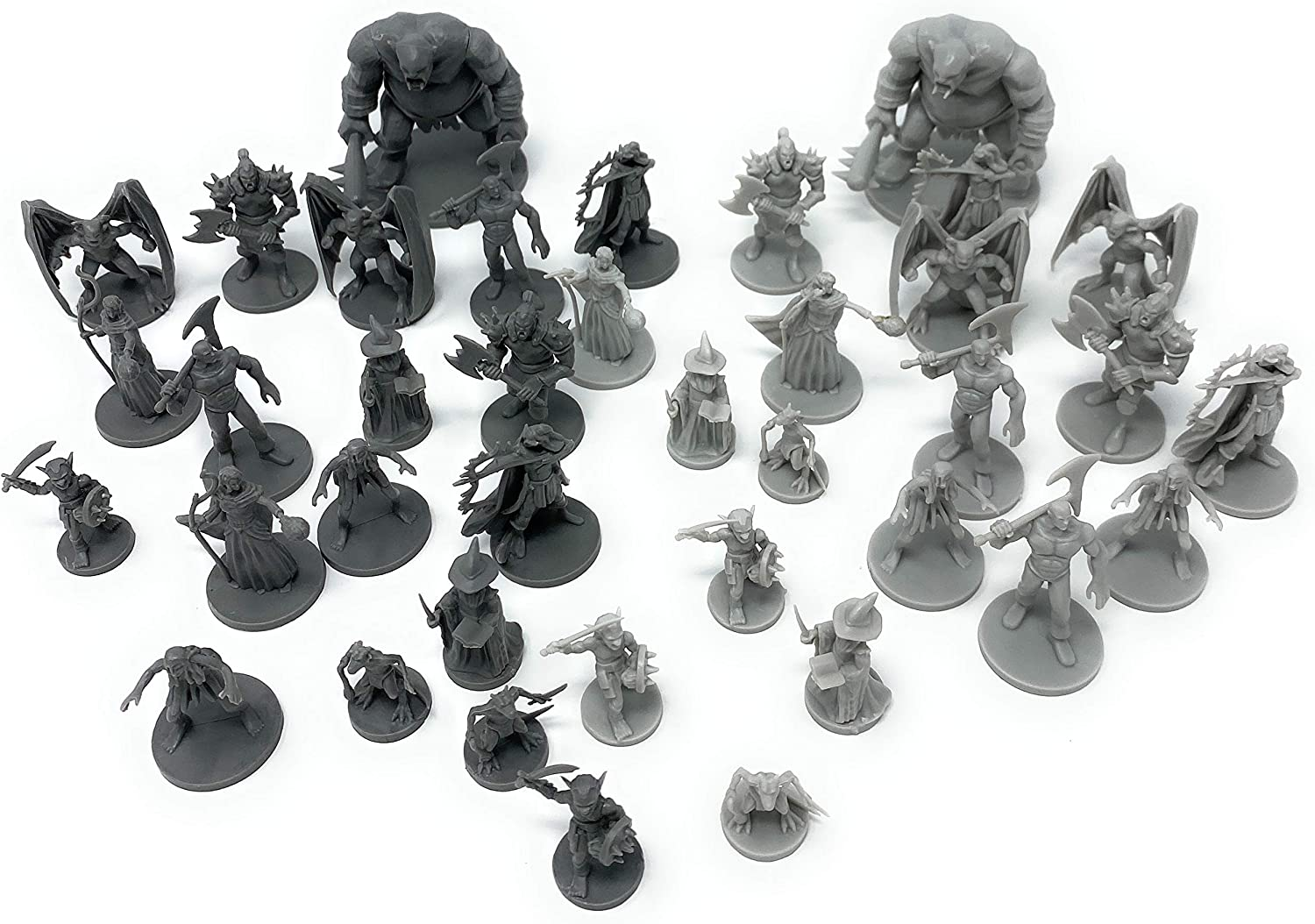 Mixed Lot Dungeons /& Dragons Marvelous DND Miniatures War Board Game Figures Toy