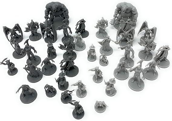 38 Figuras de Juego de rol de Mesa de fantasía D&D para Mazmorras ...