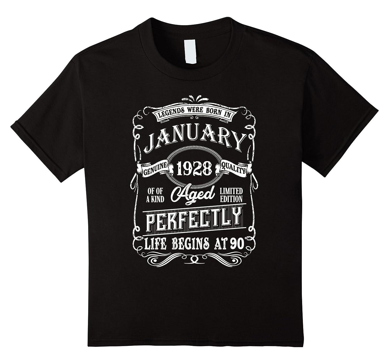Legends Jannuary Birthday Shirt Black-Awarplus