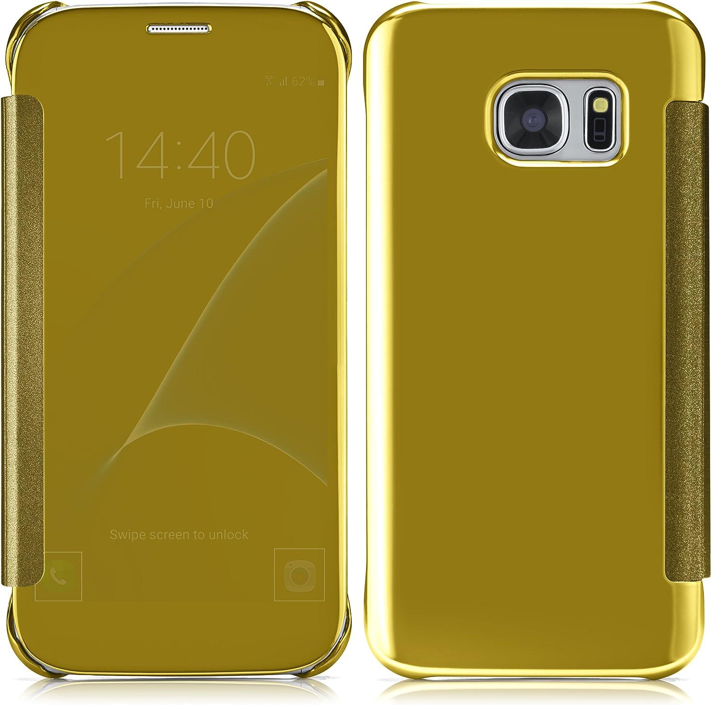 MoEx/® D/ünne 360/° Handyh/ülle passend f/ür Samsung Galaxy S8 Blau in Hochglanz Klavierlack Optik Transparent bei eingeschaltetem Display