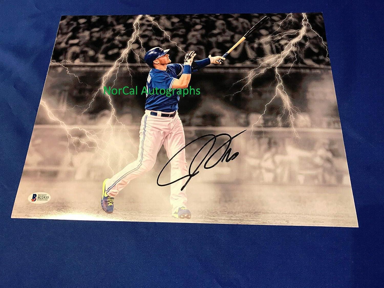 promo code 6e583 7179e Josh Donaldson Autographed Signed Memorabilia 11X14 ...