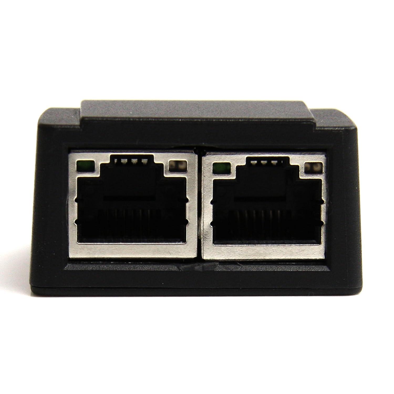 STARTECH.COM Adattatore Scheda di Rete Ethernet Gigabit PCI Express PCIe NIC a 4 Porte