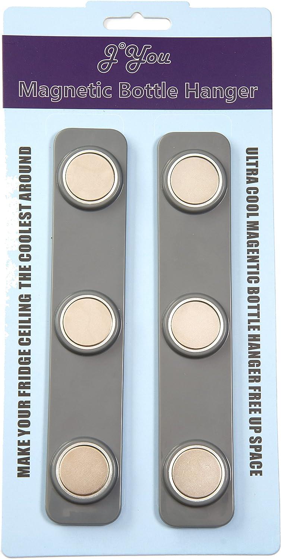Beer Loft Magnets for your Refrigerator Beer Bottle Storage (Grey)