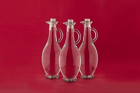 6 Botellas de Vidrio Vacías 250/500 ml 6 Unidades a Elegir con Corcho para