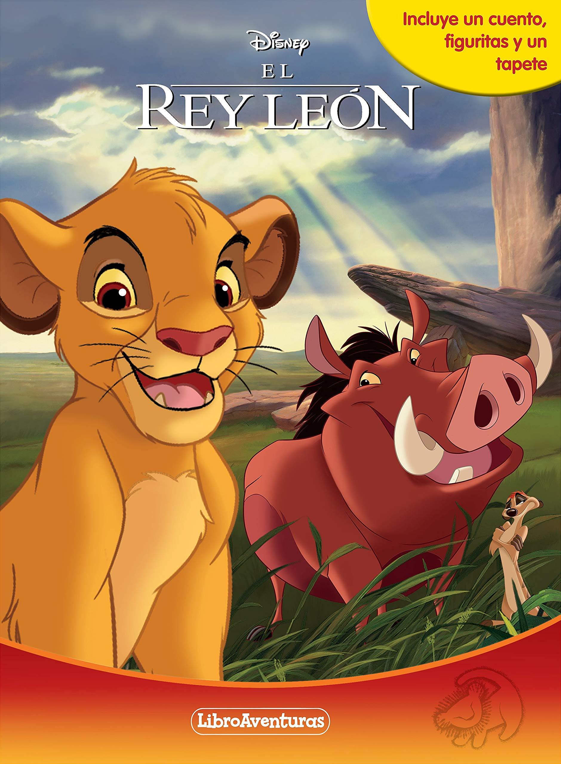 El Rey León. Libroaventuras: Libro-juego. Incluye un tablero y figuras para  jugar: Amazon.es: Disney, Editorial Planeta S. A.: Libros