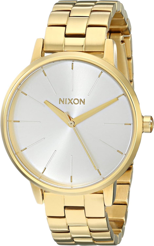 Nixon Kensington A099. Reloj de Mujer Resistente al Agua 100 m (37 mm Esfera del Reloj, Correa de Acero Inoxidable de 16 mm)