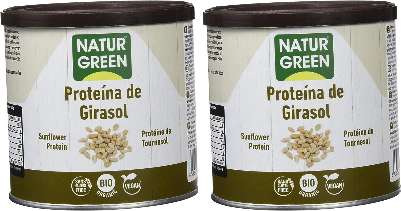 NaturGreen Proteína de Girasol Bio 250gr- Pack de 2 unidades ...