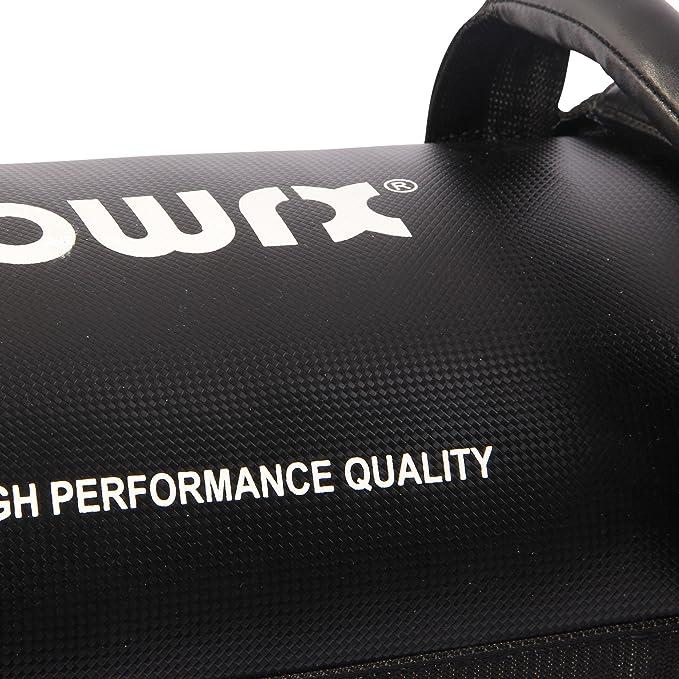 POWRX - Sandbag 5 kg, 10 kg, 15 kg, 20 kg, 25 kg, 30 kg - Perfecta para mejorar el equilibrio, fuerza, flexibilidad, coordinación y circulación - Power Bag ...