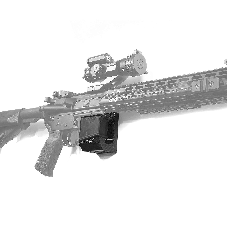 Spartan Mount for Standard Rifle | Display Storage Organization System | Unique Low Profile Design | Gun Safe Wall Garage | Gun Room Mounting Solution: Industrial & Scientific