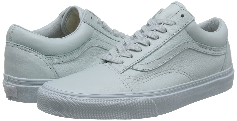Vans B073MZRGB7 Unisex Old Skool Classic Skate Shoes B073MZRGB7 Vans 7.5 D(M) US|Mono/Ice Flow 9237b6