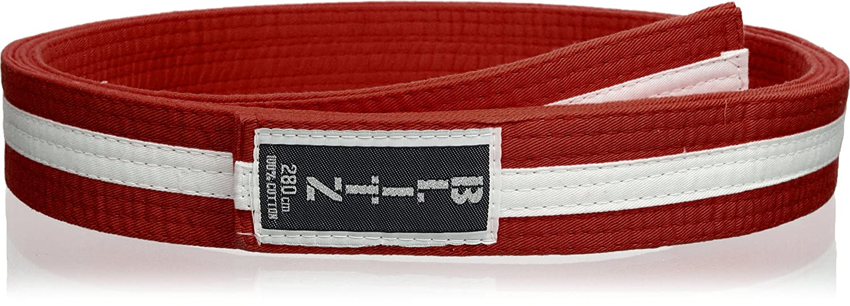 Blitz Sport Striped - Emblema para cinturón de Artes Marciales