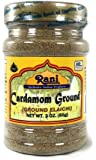 Rani Cardamom (Elachi) Ground, Powder Indian Spice 3oz (85g) ~ All Natural, No Color added, Gluten Free Ingredients | Vegan | NON-GMO | No Salt or fillers