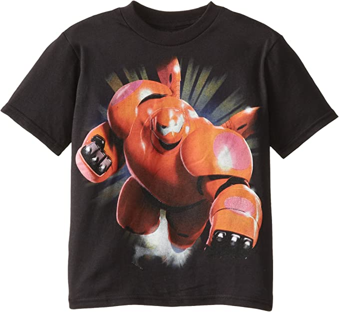 NEW Quality Disney Fun BIG HERO SIX 6- T Shirt Cool