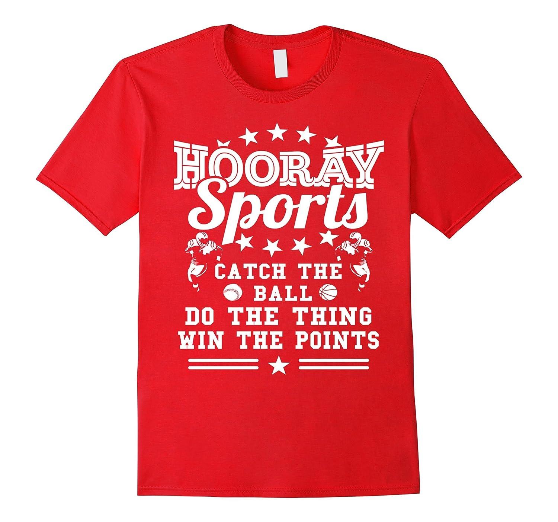 Womens HOORAY Sports Football Baseball-Awarplus