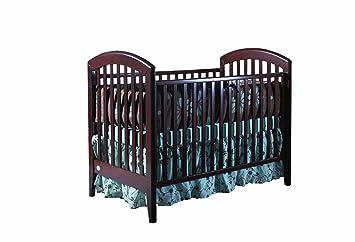 pali gala fixed sides crib mocacchino