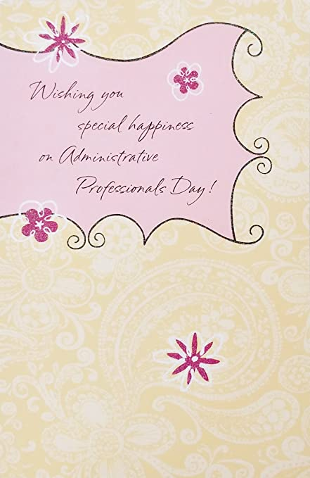 Amazon wishing you special happiness on administrative wishing you special happiness on administrative professionals day greeting card quotenjoy you m4hsunfo