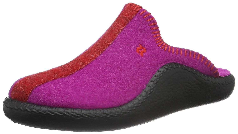 Romika Mokasso 102, Chaussons Mules Mixte Adulte, (Rot), 37 EU