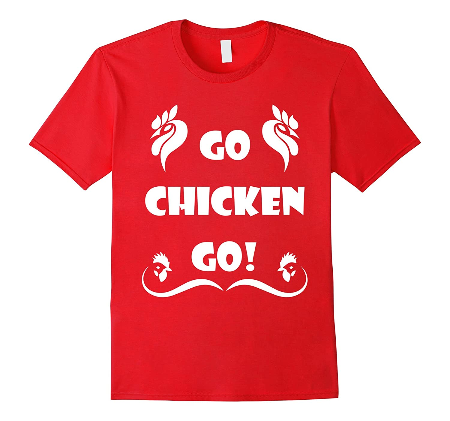 Chicken Attack Funny Shirt - Go Chicken Go-CD