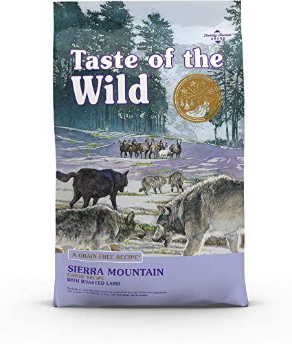 Taste of the WildHigh Protein Real Meat Recipe Sierra Mountain Premium Dry Dog Food