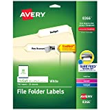 Avery File Folder Labels, TrueBlock